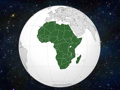Afrika Nema Karta Reke.Shtreber