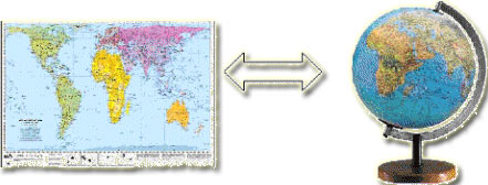 Geografska Karta I Njen Sadrzaj