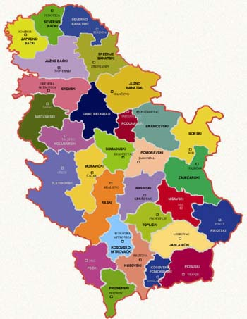 Politicka Karta Srbije Superjoden