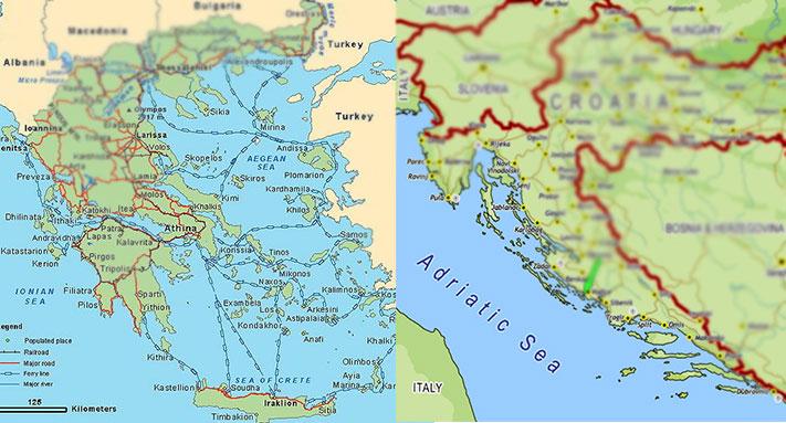 Zemlje Balkanskog Poluostrva