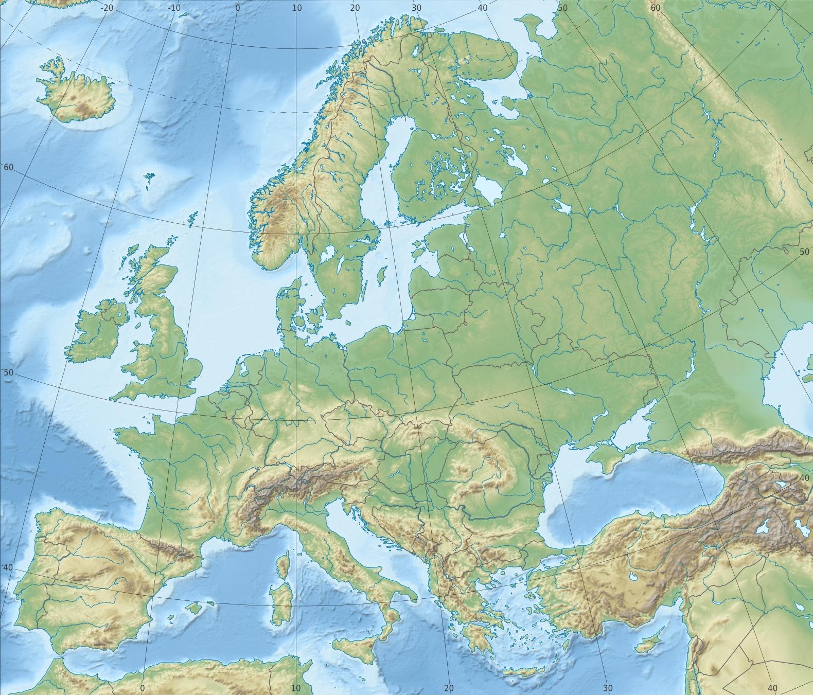 Fizicko Geografske Odlike Evrope