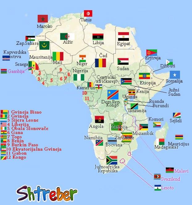 Opste Karakteristike Afrike