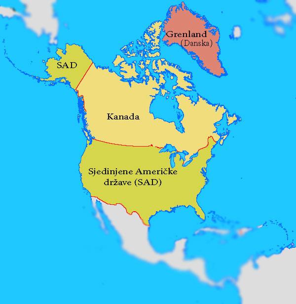 Drustveno Geografske Odlike Severne Amerike