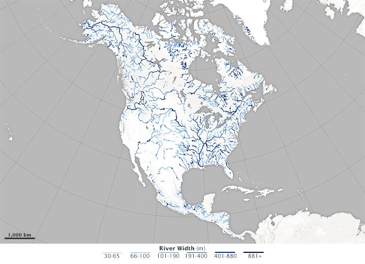 Hidrografija I Biom Severne Amerike