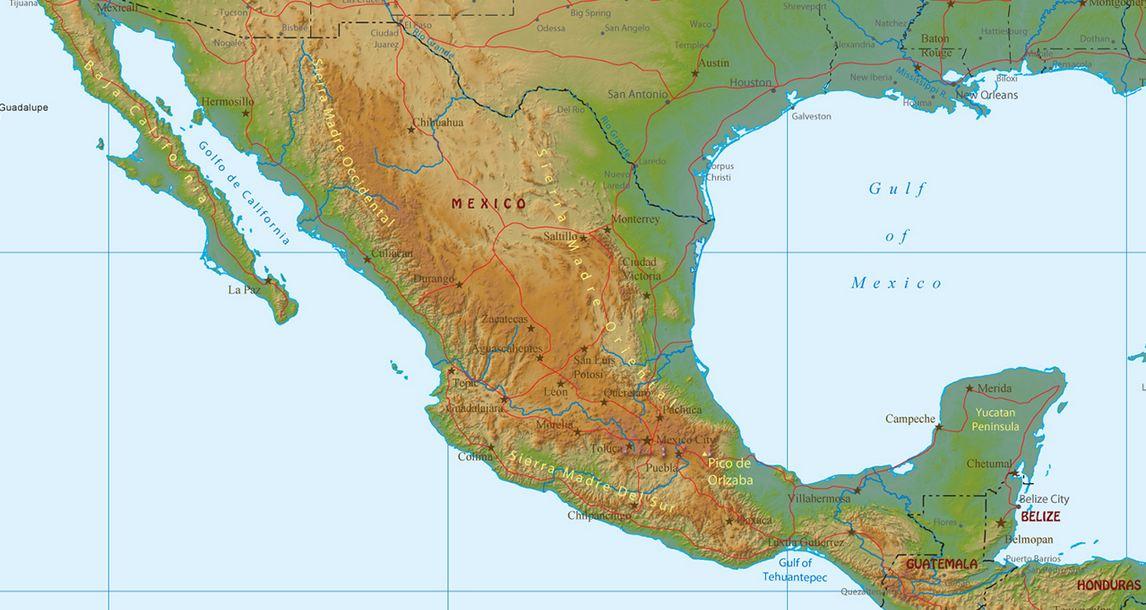 Srednja Amerika Osnovni Podaci