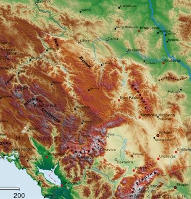 Zapadna Zona Venacnih Planina Dinaridi