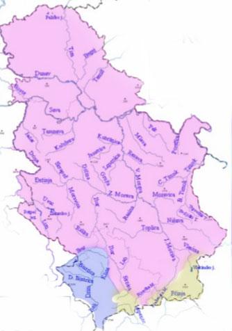 Hidrografija Srbije