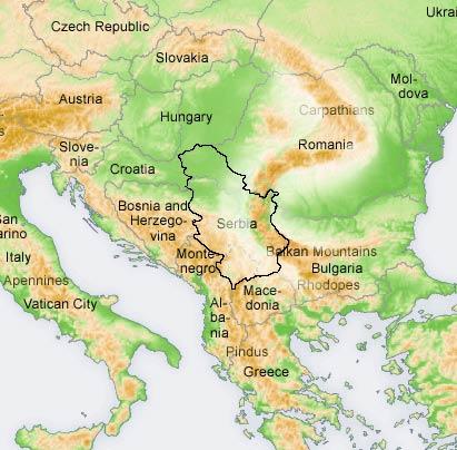 Planinarska Mapa Sa 200 Oznacenih Planina U Srbiji Drustvo