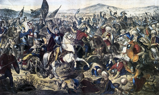 Battle_of_Kosovo,_Adam_Stefanović,_1870