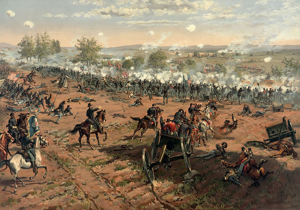 Thure_de_Thulstrup_-_L._Prang_and_Co._-_Battle_of_Gettysburg_-_Restoration_by_Adam_Cuerden_(cropped)